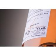 Leat 6500 The Origin Cabernet Sauvignon / Feteasca Neagra M1.Crama Atelier - Vin rose sec